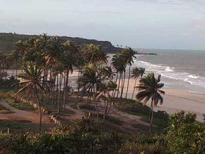 Entrada da Praia Bela